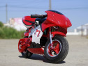 Motocicleta electrica pentru copii nitro eco pocket bike red