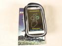 Husa impermeabila cu buzunar pentru telefon, pt. bicicleta