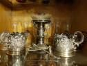 Suport pahare din argint