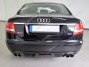 Prelungire S-Line bara spate Audi A6 C6 4F ABT Sedan v2