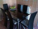Set masa bucatarie cu sase scaune