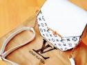 Genti Louis Vuitton new model, accesorii metalice aurii