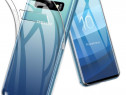 Samsung S10E Pachet Husa Silicon + Folie Sticla Curbata 11D