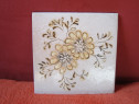Placa ceramica vintage Servais Germany-pictata manual -un ca