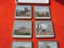 Cadou inedit-'Munchen' Coasters-made in UK  '70s Pimpernel