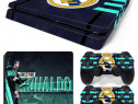 Skin / Sticker Real Madrid / Ronaldo Playstation 4 PS4 SLIM