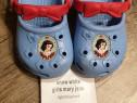 Crocs Snow White deosebiți 21/22, interior 13 cm