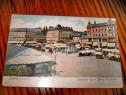 B11-Zagreb Croatia Targul Jelacici carte postala veche 1906.