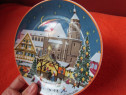 Farfurii pictate Barbara Furstenhofer- Germany-cadou inedit