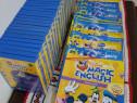 DVD-uri Disney invatare engleza copii+DVD player E-boda