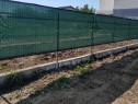 Plasa antivant/gard 2x10m / 2x15m , verde, ochiuri intarite