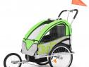 Remorcă de bicicletă & Cărucior copii 2-în-1, 91378