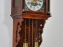 Ceas de perete cu pendula si 2 greutati - Zaanse