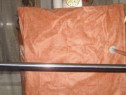 71b-Suport perdea pentru dus de baie din inox, cca 70 cm.