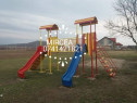 Topogan leagăn balansoar rotativă pentru copii