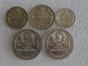 Monezi de Argint Rusia-Romania-Italia 1909-1946