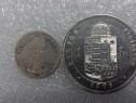 Monezi de Argint-Bronz Straine 1853-1899