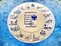 1523-Aplica Delft-Gemeente cu localitati rurale portelan.