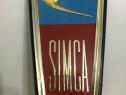 Emblema Logo SIMCA 1000