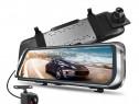 """Sistem oglinda 10"""" HD DVR+camera marsarier.filmeaza fata -sp"""
