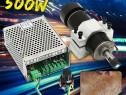 Variator de tensiune 0-100V DC Current: 6A, CNC 500W. NOU!!