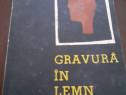 Gravura in lemn de Boris Lavreniov