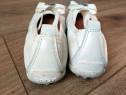 Balerini/pantofi piele Geox albi - nr 25, 14.5 cm interior