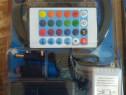 Kit Banda Led RGB Rola 5m cu telecomanda+transformator water