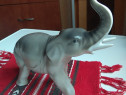 Bibelou vechi Elefant portelan Alba Iulia colectie comunism