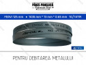 FERVI 125 mm 1435x13x10/14 panza fierastrau banda metal