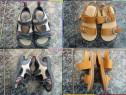 Sandale piele naturala,zara 23,24