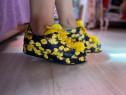 Pantofi casual Roberto Serpentini ,marime 37 - piele natural
