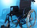 Scaun cu rotile din aluminiu Meyra / latime sezut 46 cm