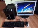 Unitate PC Slim +Monitor Lg +Tatatura +Mouse sch Acer,Hp