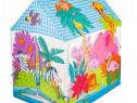 Cort de Joaca pentru Copii IPlay, Casuta Zoo, Animal Print