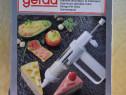 Pistol ornat briose, Dispozitiv decorat torturi, cofetarie