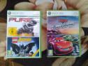 Xbox 360, lego batman + pure, cars 1