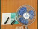 Ventilator oscilant de cabina. Se alimentează la 12V