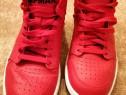 Pantofi sport mid-high cu insertii de piele Jordan Access