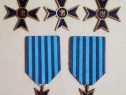 """5 buc. Medalia """"Crucea comemorativa a celui de-al doilea..."""