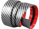 Banda Protectie Spoiler/ Bara .Praguri Auto Fibra Carbon 5mm