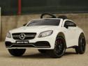 Masinuta electrica pentru copii Mercedes C63 AMG #White