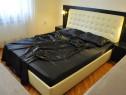 Lenjerie de pat 2 persoane, satin negru, Primark Anglia