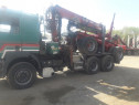 MAN F2000 transport busteni lung   Forestier