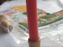 Suport lumanare din lemn