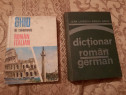 Ghid italian , dictionar germana si Atlas Geografic Romania