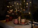 Ghirlanda luminoasa cu 20 becuri, lumini petrecere, terasa