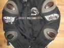 Costum moto carbon polo-flm dragon,textil de vara