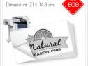 Etichete Autoadezive Personalizate 21 x 14,8 cm | Alb/Negru