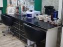 Masa de lucru coafor-salon-frizerie doua posturi cu